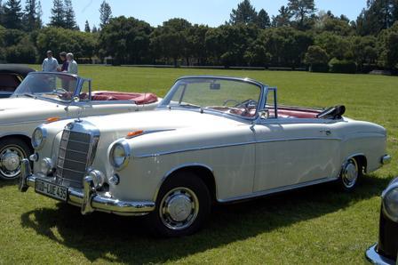 1957 Mercedes-Benz W180 220S Ponton Cabriolet