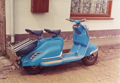 1957 NSU PRIMA blau