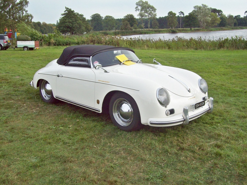 1957 Porsche 356A Speedster Engine HO4 OHV