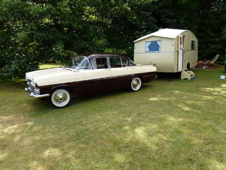 1957 Vauxhall CrestaPSL 206  PA and Thomson Caravan plus extras.