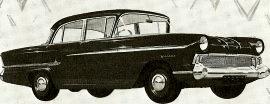 1957 Vauxhall Victor Saloon Series F