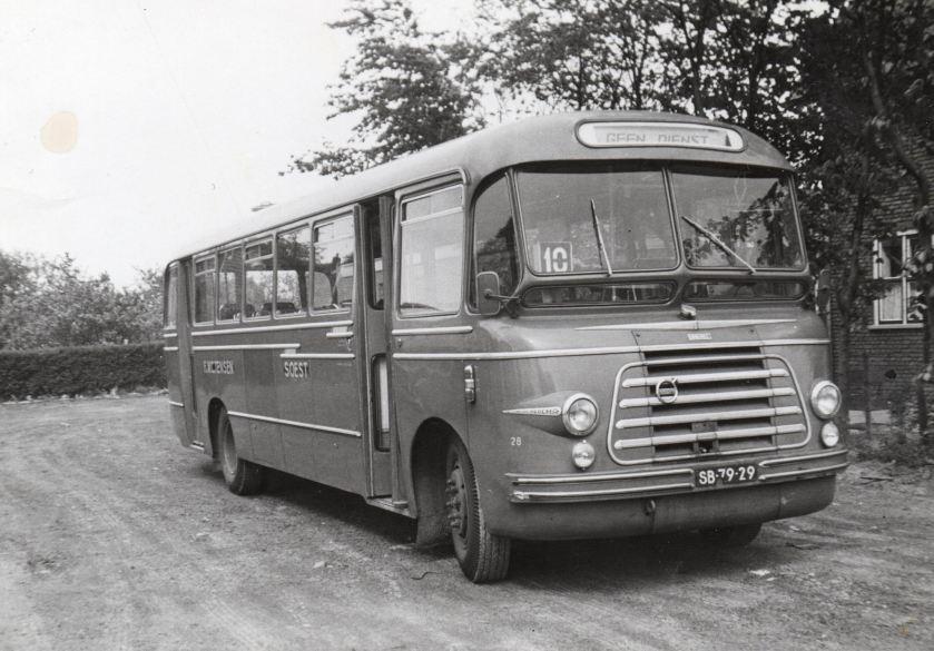 1957 Volvo Bus 28 Tensen