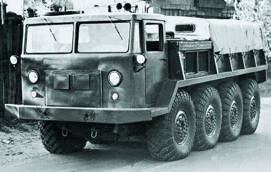 1957 ZIL-134 (АТК-6), 8x8
