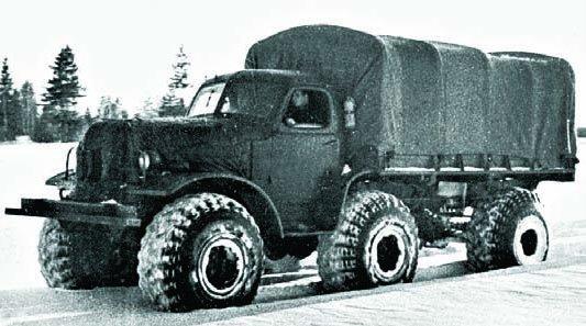 1957 ZIL-157R, 6x6