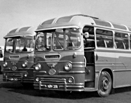 1958 AEC Reliance MU3RV Yeates C41F KBV251