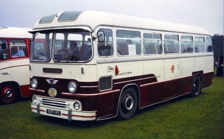 1958 AEC Reliance MU3RV Yeates C41F VBT-191