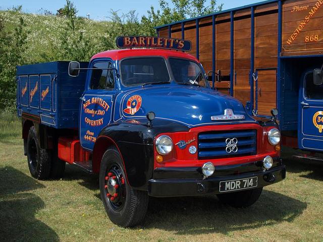 MDR 714  1958  Bedford D series Tipper  Bartletts