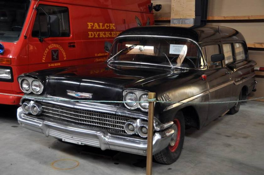 1958 Chevrolet Del Ray Ambulance