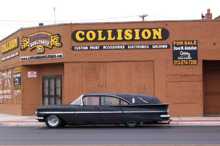 1958 Chevrolet Hearse Bl