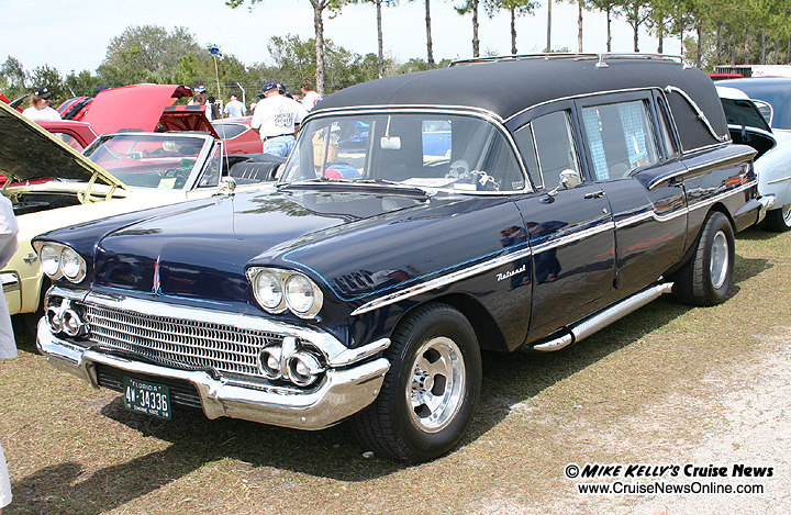1958 Chevy Hearse