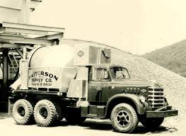 1958 Diamond T 830 Cement Mixer