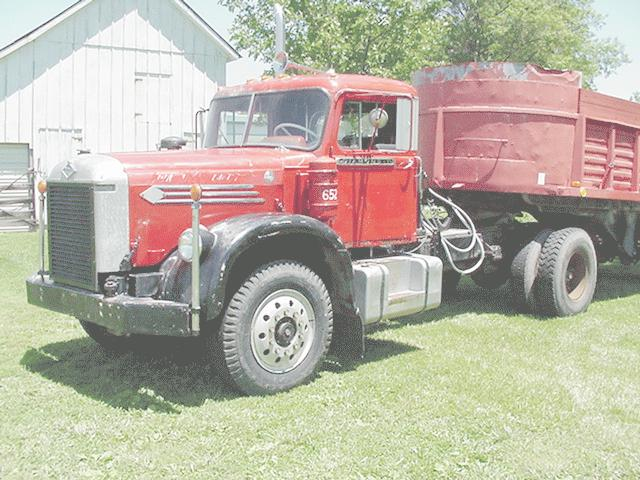 1958 Diamond T 921 Dw,16in Powersdumptrailer