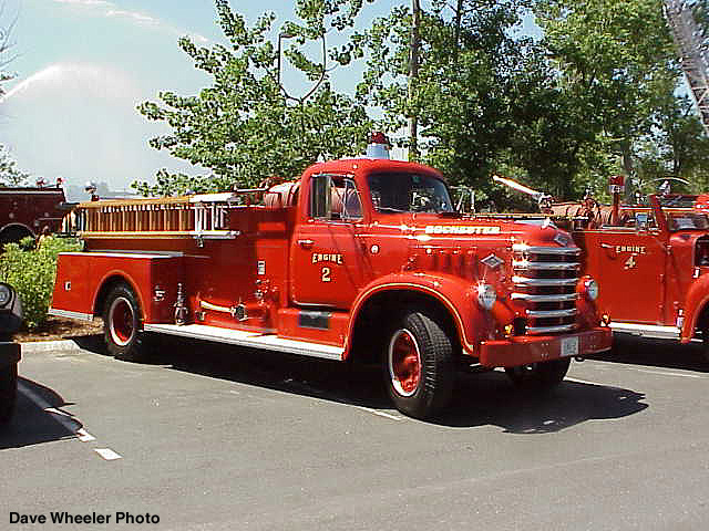 1958 Diamond T model 536 fire truck a