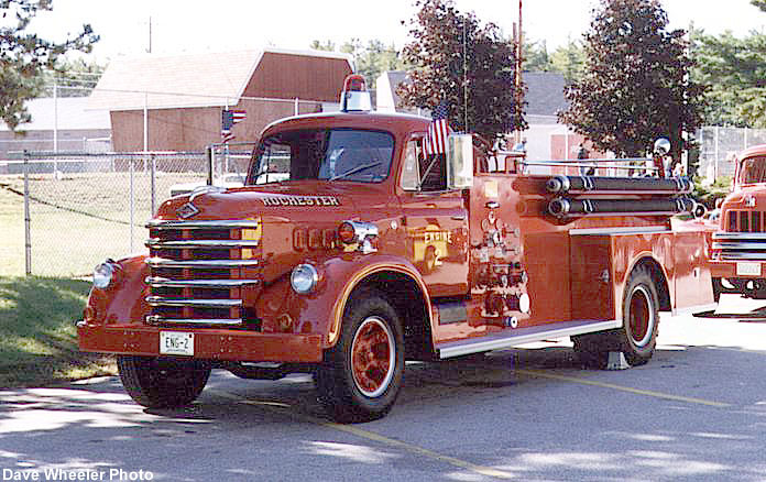 1958 Diamond T model 536 fire truck