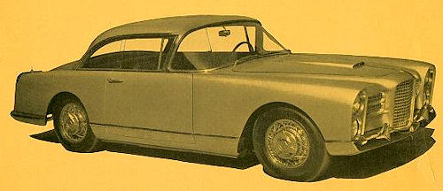 1958 facel coupe