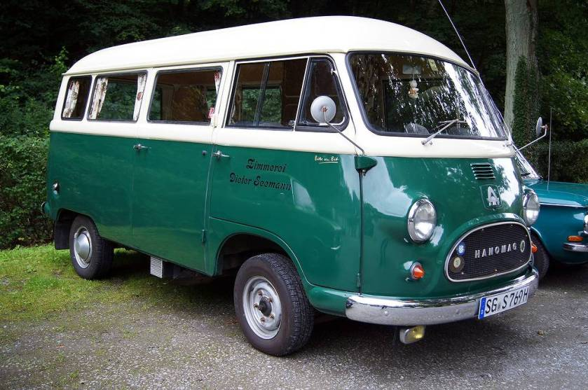 1958 HANOMAG KURIER bus