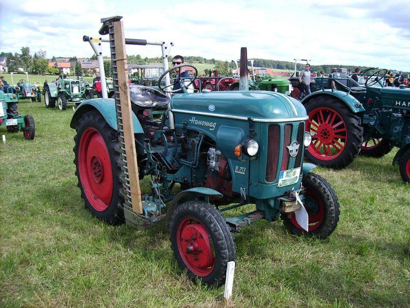 1958 Hanomag R 217