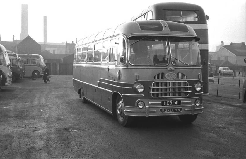 1958 HEB141 was a Yeates Europa C41F bodied Bedford SB3