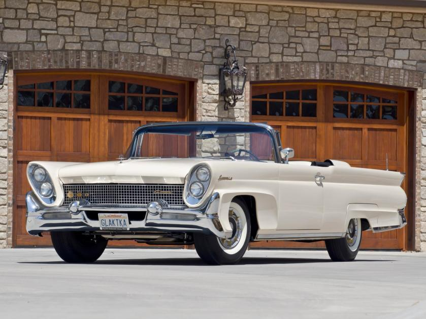 1958 Lincoln Continental Mark III Convertible's with 430-400 HP Tri-Power