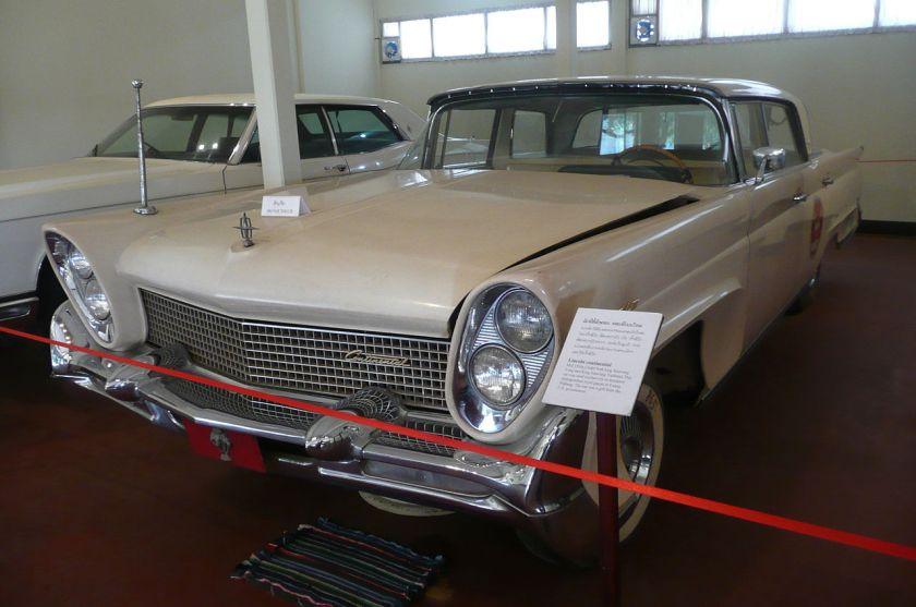 1958 Lincoln Continental Mark III Landau hardtop sedan