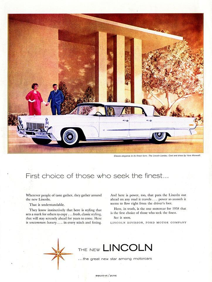 1958 Lincoln