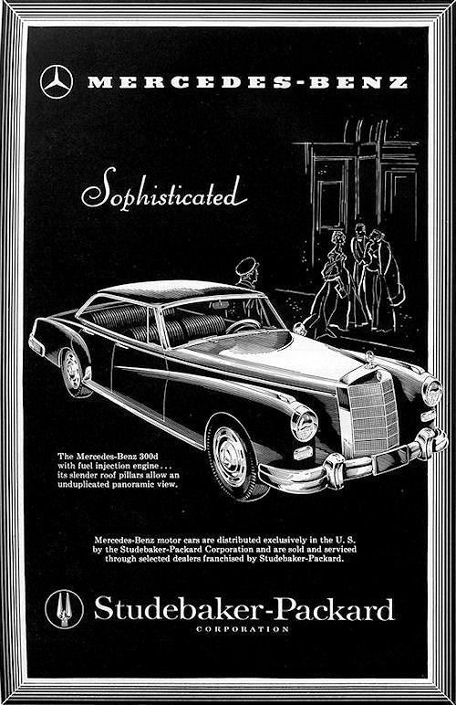 1958 mercedes benz  1