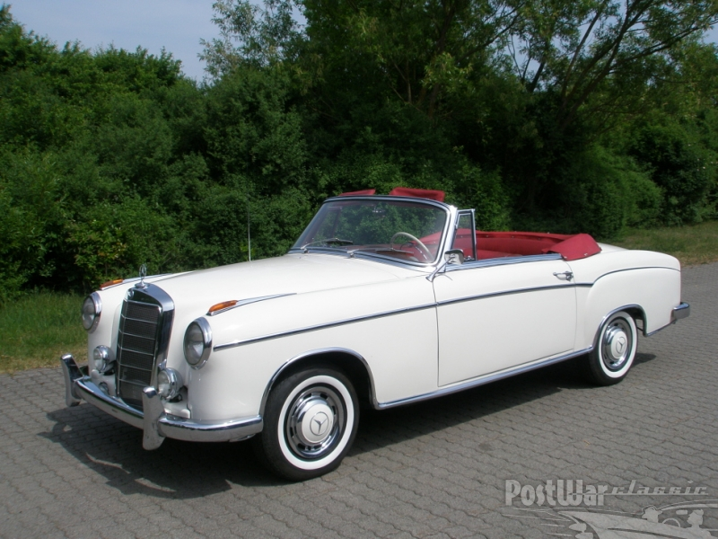 1958 Mercedes-Benz 220 S Convertible