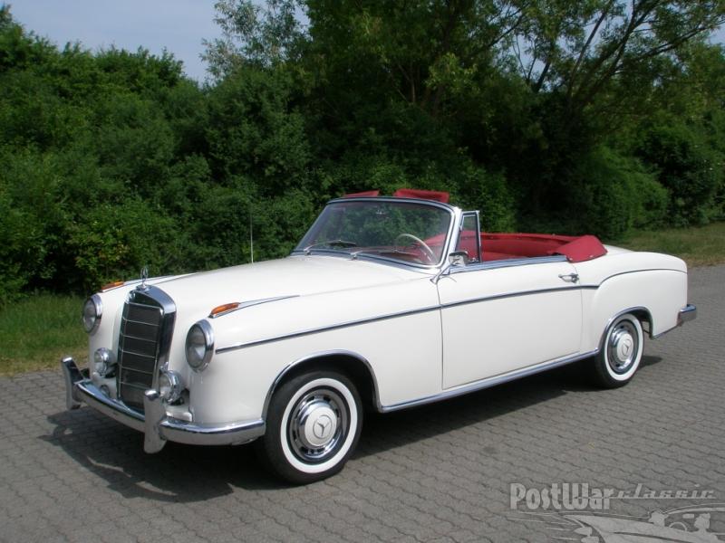 1958 Mercedes-Benz 220 S Convertible