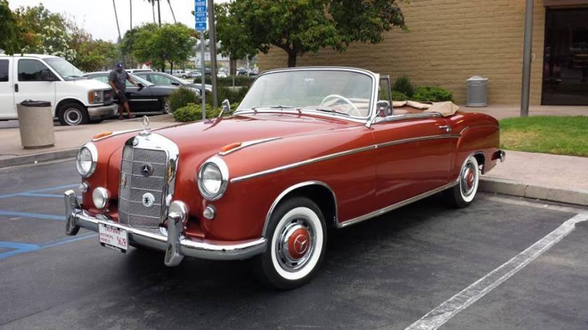 1958 Mercedes Benz 220 s