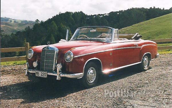 1958 Mercedes-Benz 220S (W186) Convertible RHD