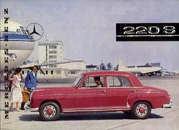1958 merceds benz p220s