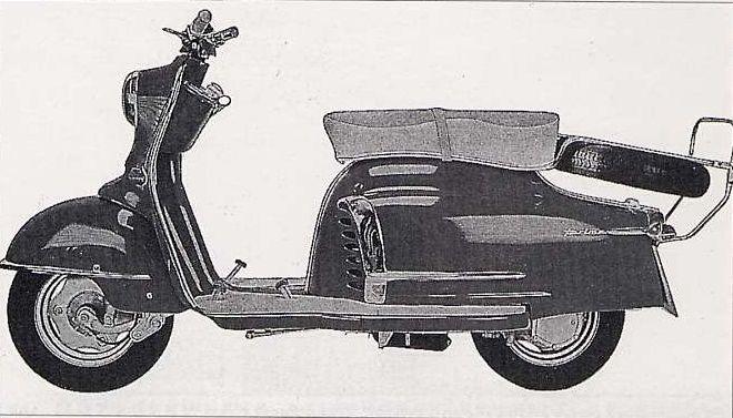 1958 Nsu Prima 3stern Motorcycle