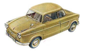 1958 nsu prinz II