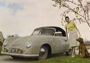 1958 porsche 356-spijlcabrio