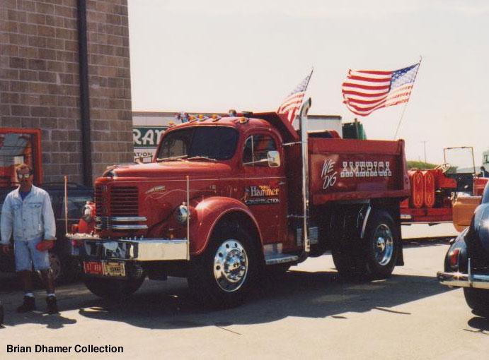 1958 Reo dump truck