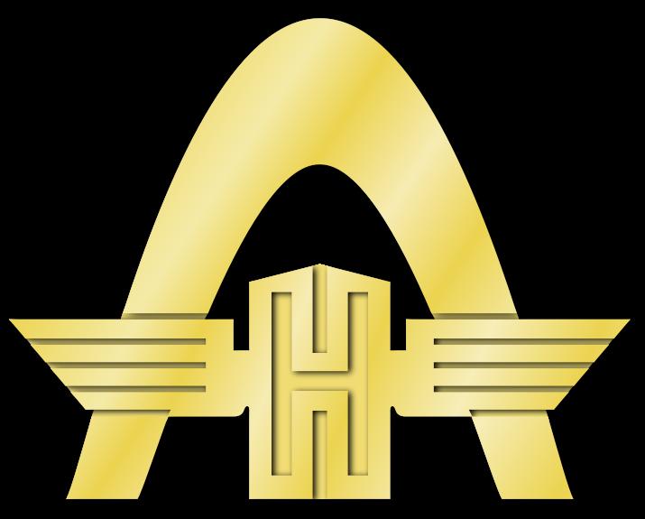 1958 Rheinstahl-Hanomag-Logo nach der Übernahme von 1958