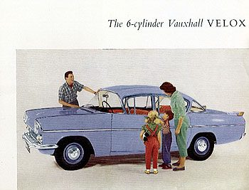1958 Vauxhal Velox