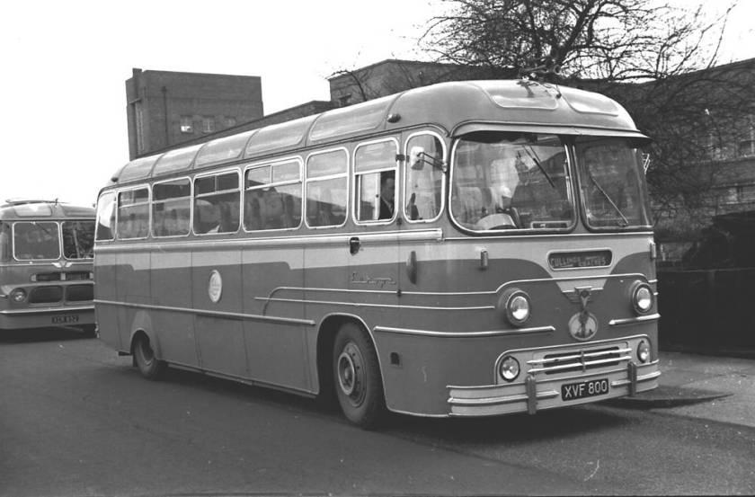 1958 Yeates Europa C41F bodied A.E.C. MU3RV Reliance XVF800