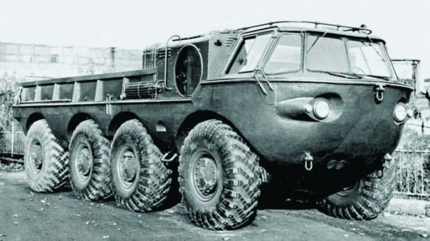 1958 ZIL-135B amphibious vehicle, 8x8