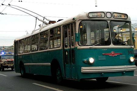 1959-72 ZIU 5 Trolleybus USSR