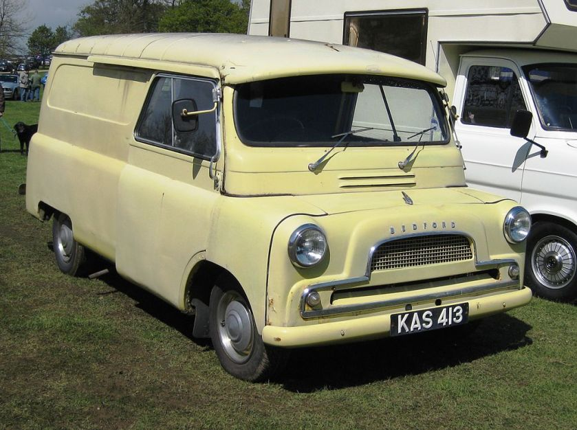1959 Bedford CA 1595cc reg