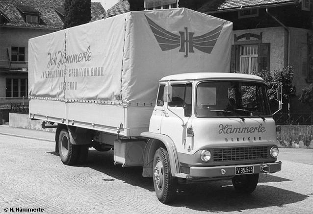 1959 Bedford-TK-Pritschen-Lkw-Haemmerle
