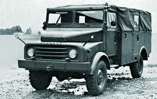 1959 Hanomag AL28, 4x4