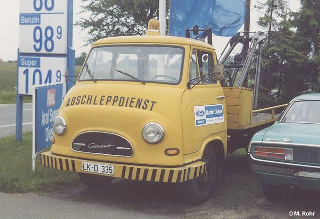 1959 Hanomag-Garant-Abschleppwagen-gelb-Fr