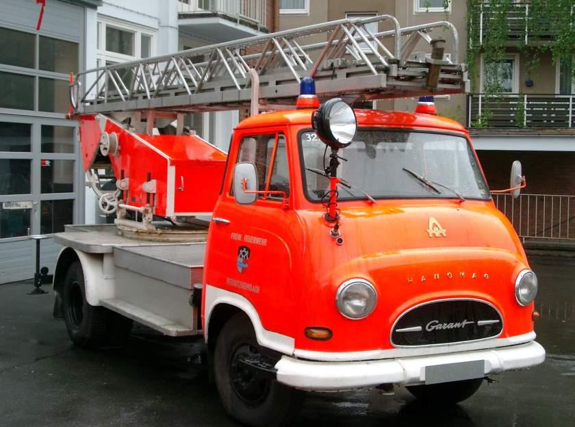 1959 Hanomag Garant Feuerwehr