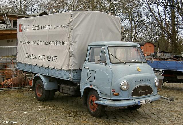 1959 Hanomag Garant Pritsche