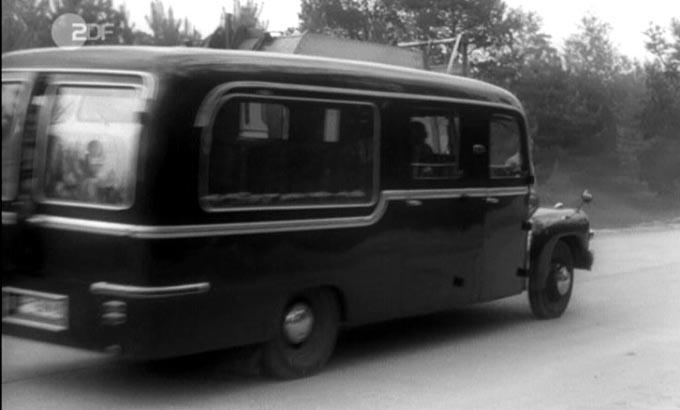 1959 Hanomag L28 Bestattungswagen Luchterhand & Freytag