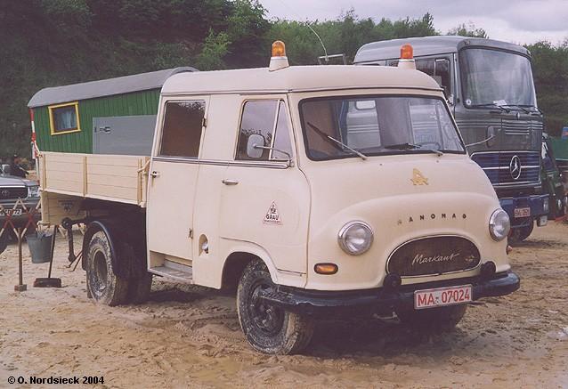 1959 Hanomag Markant Pritsche-Doppelkabine