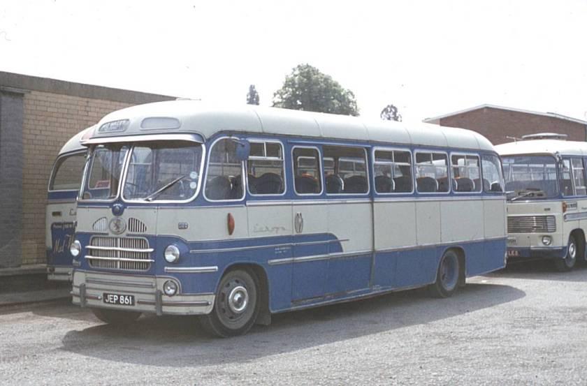 1959 JEP861 Bedford SB1 with Yeates Europa C41F bodywork