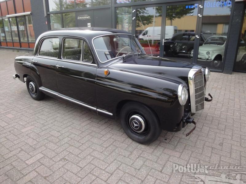 1959 Mercedes-Benz 190 Ponton Diesel